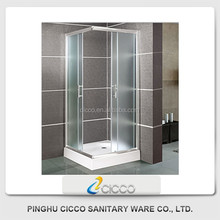 Hot-Selling High Quality Low Price Simply Chrome Finish Shower Rooms