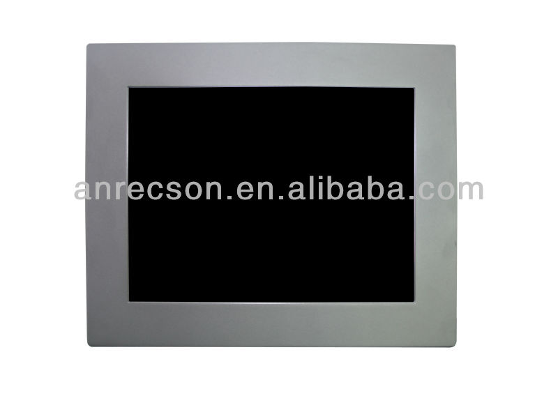 17 inch Flush mounted touch screen monitor