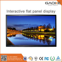 65 inch full HD factory price cheap touch screen monitor smart tv all in one flat panel high brightness LED display