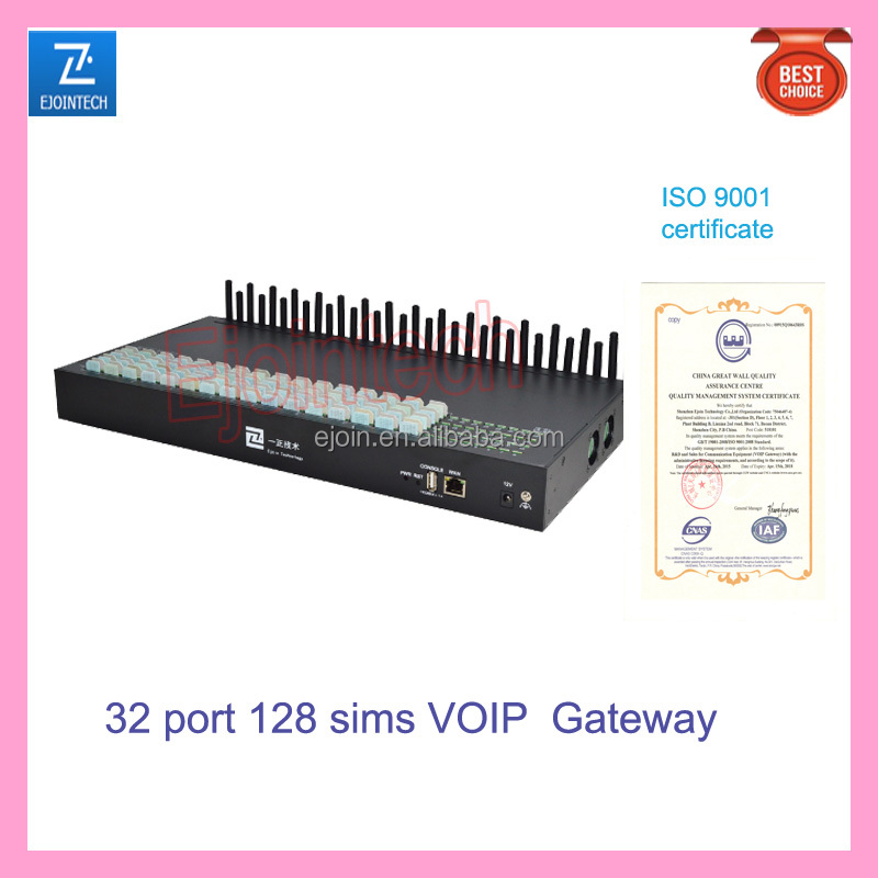 sip sms 32 port 32/128 sim gateway server IMEI changeable gsm sim box voip gateway