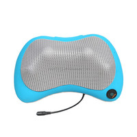 Kneading back Massager pillow with shiatsu heating