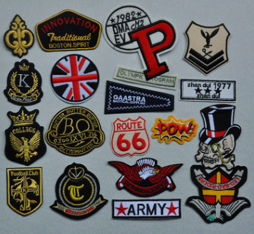 Manufacturers custom-made uniforms embroidered badges