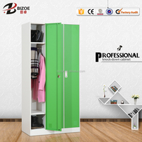 Wholesale 3 door steel almirah cabinet