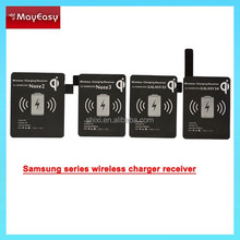 HIgh quality Qi Standard wireless charger receiver for samsung S3/S4/S5/Note 2/Note3/Note4