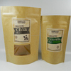 Alibaba Best Seller PE Coated Kraft Paper Zipper Food Plastic Bag