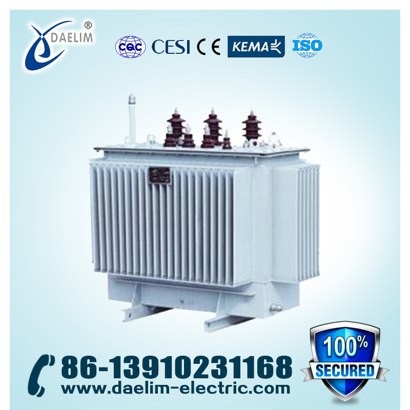 11kv 1600kva Power Amorphous Metal Safe Running Full-sealed Distribution Transformer