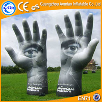 6m giant inflatable hand for sale