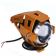 Motorcycle lights universal 30w fog lamp led u5 motorcycle led driving fog head spotlight