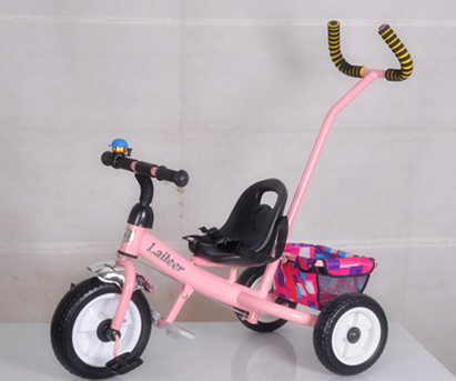 2015 New model cheap baby tricycle, tricycle kids 2015, colorful child tricycle ride on bike, baby metal tricycle wth push bar