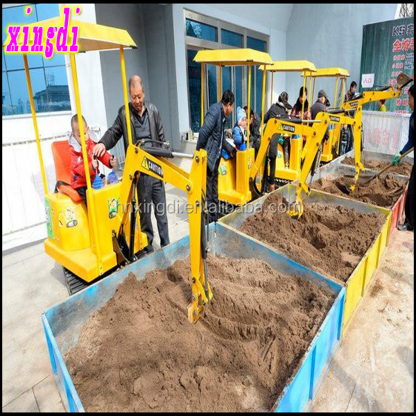 2016 new games kids ride on electric toy excavator Alibaba China