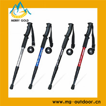 2014 High Quality and New Design Folding Tool Hiking Pole