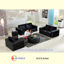 half fabric half leather 321 tv room african style sofa, diwan 6 seater sofa set picture