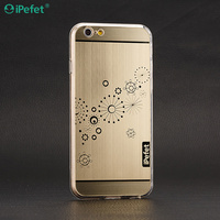 Latest New Aluminum Bumper Case cover Personalized Designs Sparkle phone case for iPhone/Samsung/Huawei
