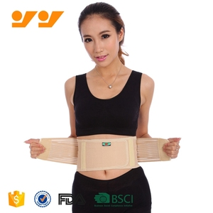 Durable lumbar back brace posture corrector back support