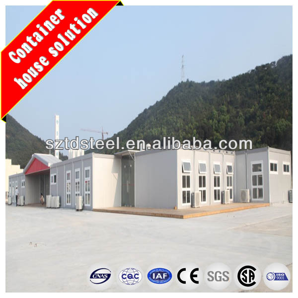 CE certified prefabricated wooden house