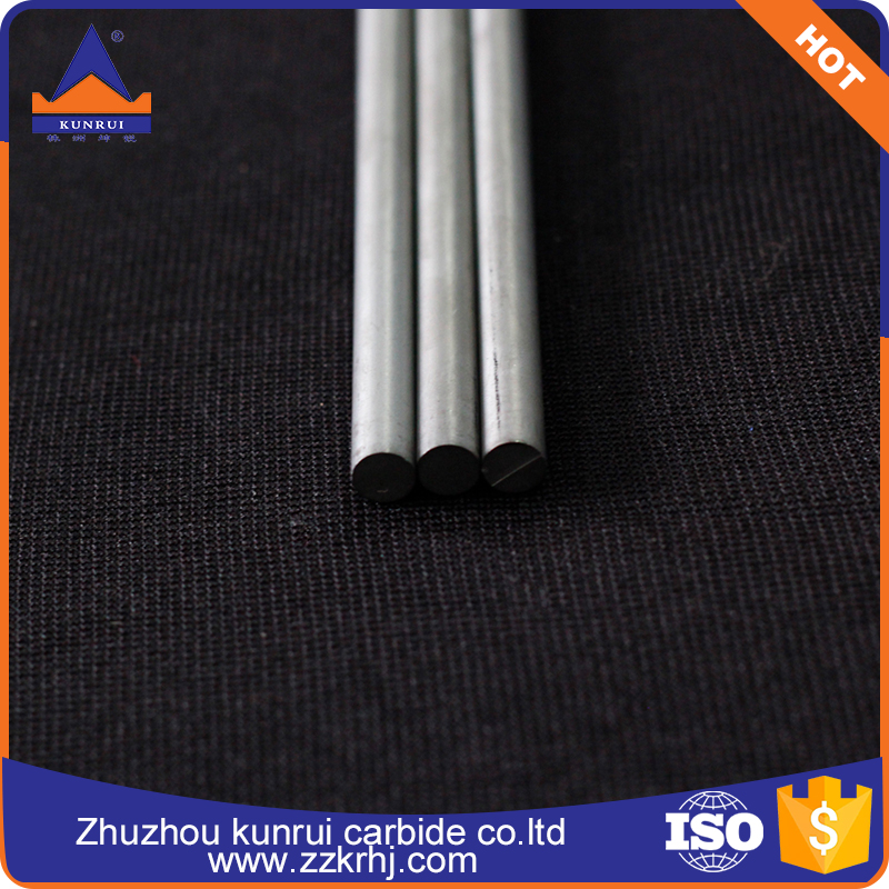 Factory supply ! K20-K30 D6.5mm*330mm diameter tungsten <strong>carbide</strong> rods for making <strong>carbide</strong> end mills
