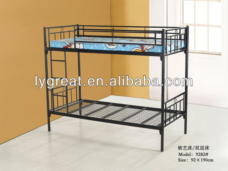 Guangdong factory Direct selling double box spring bed
