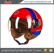 2017 New Arrival Motorcycle Vintage Scooter Open Face Helmet