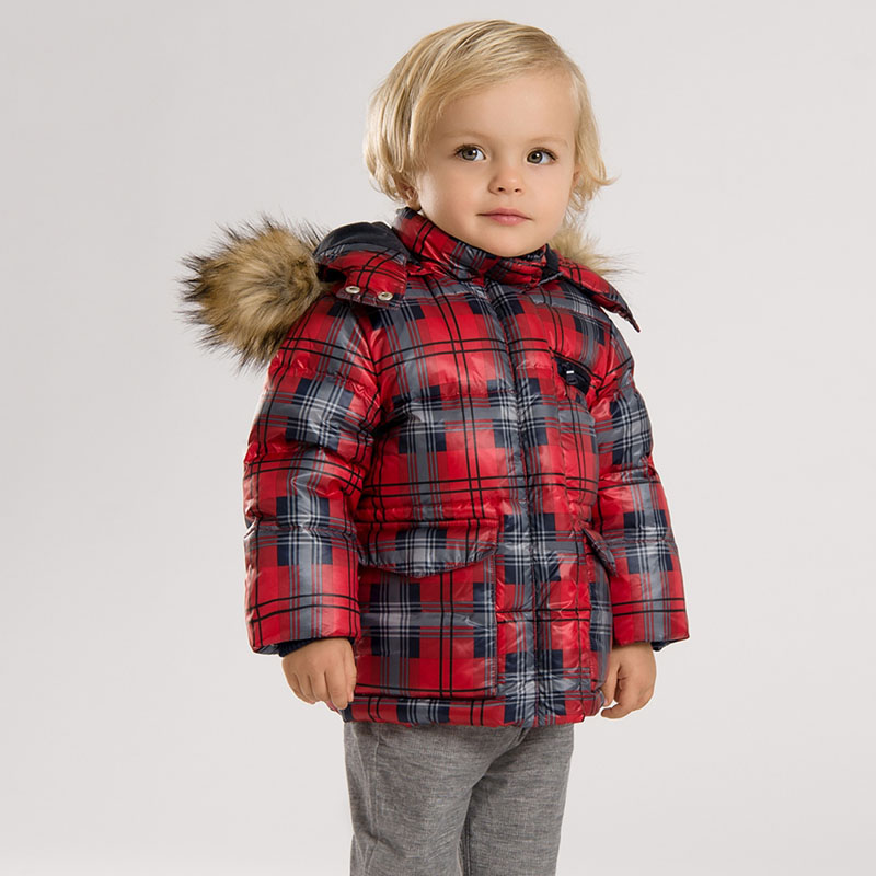 DB3447 dave bella 2015 winter infant coat baby boy down jacket padded jacket outwear boys down coat down jacket