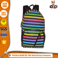 2016 Quality Assured Oem Color Ladies Fashion Backpack Bag