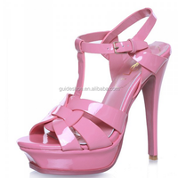 New style women high heel paltform sandal for lady