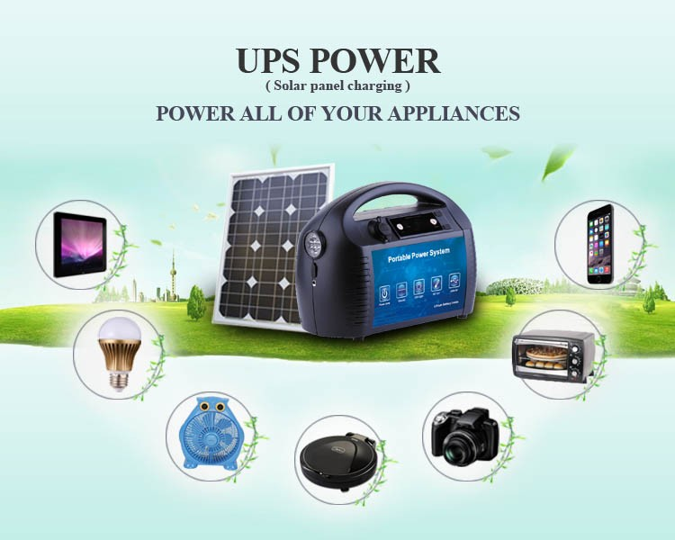 1500W UPS off line type uninterruptible power supply/portable power supply with AC DC output for electric equipment/solar system