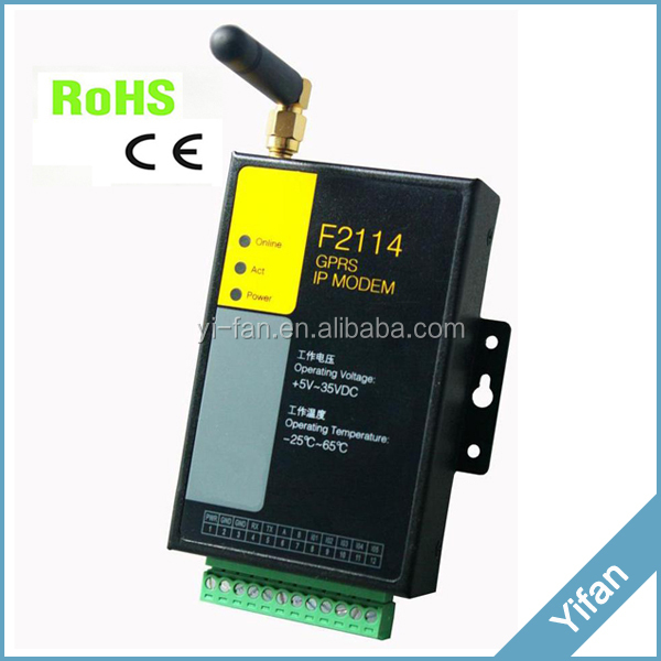 support RS485 RS232 F2114 gsm/gprs modem