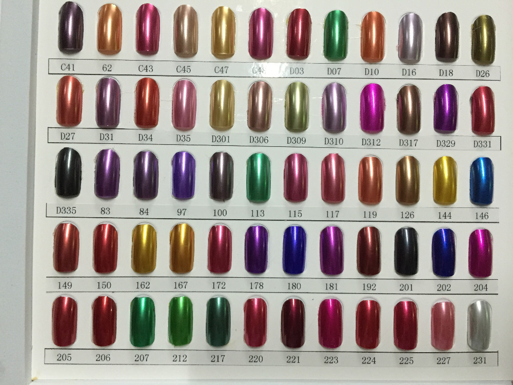 Fei Fan Florales Hot Sale Metallic Gel Polish Nail Supplies Professionals free samples