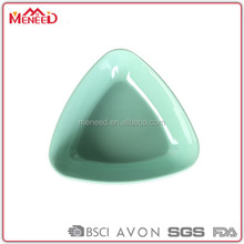 Different size custom type triangle economic heat resistant plastic curry bowl