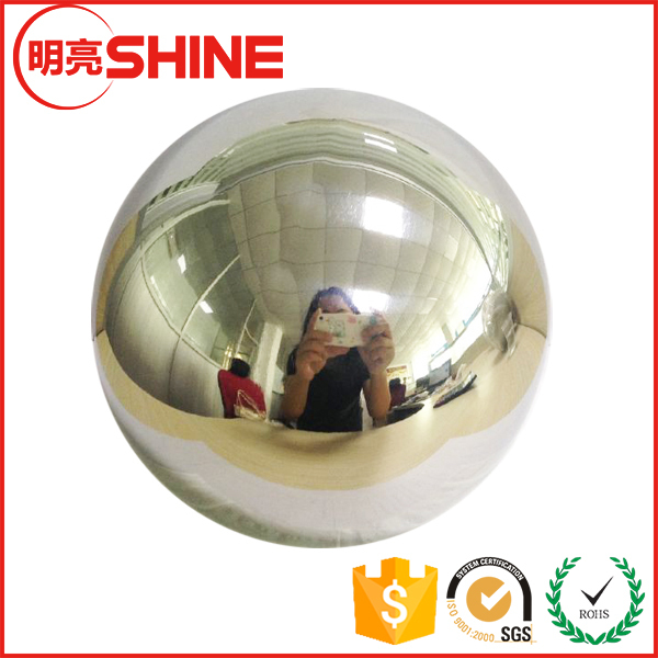 Large Chrome Christmas Ball Ornament for Decoration