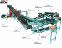 New Condition Waste Tyre Recycling Machine for Pyrolysis Plant