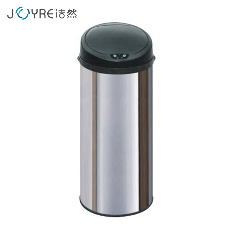 13 gallon large size stainless collapsible stand electrical smart sensor car trash bin