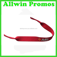 Adjustable Head Customer Printed Neoprene Sports Glasses Strap