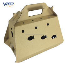 Folding Cat Play Box Cardboard House for Pets