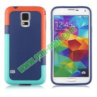 Fashion Double Color TPU Case for samsung galaxy s5 sv i9600 i9500x g900