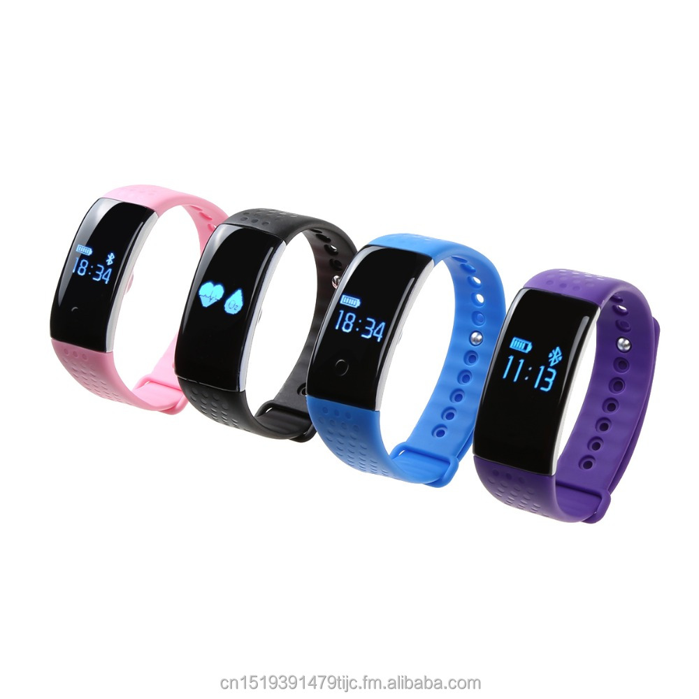 smartband Idealink <strong>K1</strong> Monitors Heart Rate Blood oxygen Wirst Tracker Watch