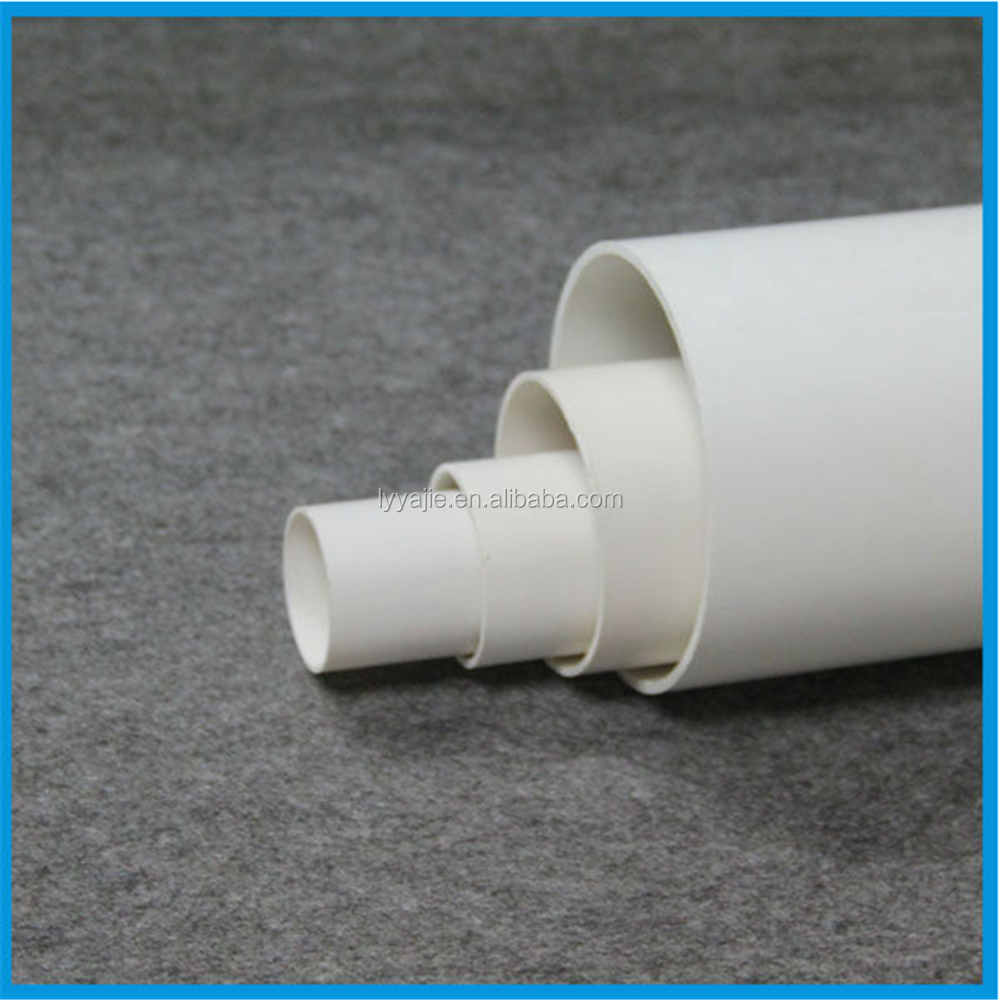 Different types 250mm pvc drainage plastic pipe buy pvc for Types of plastic pipes