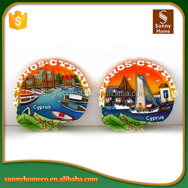 Travel tourist souvenir fridge magnet