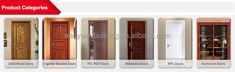 Hot Selling Interior Oak Wood Door With Veneer Panel Design