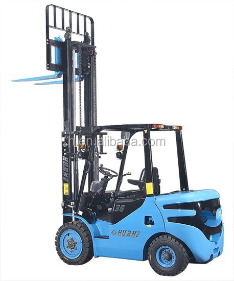 forklift accessories for 3 ton standing forklift with isuzu c240 engine