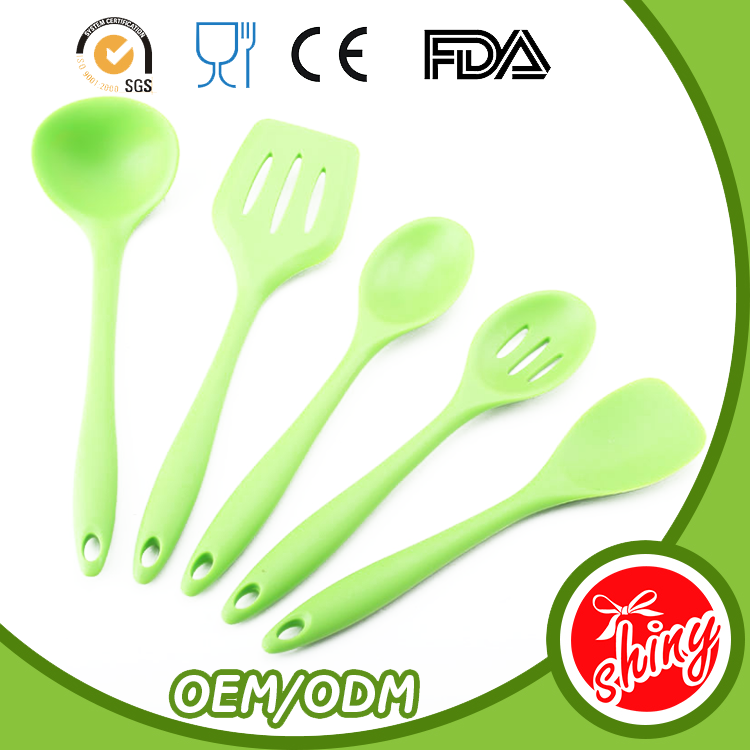 Professional kitchen gadget set, silicone cookware safety, colored kitchen utensils