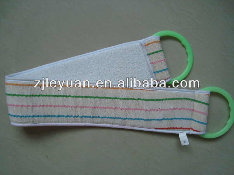 100% viscose pull strap for bathing.