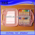 18 color oil pastel art set for kids