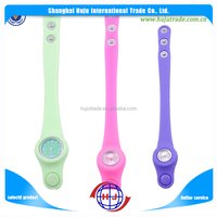 Silicon watch/jelly silicone watch band strap wristband watch