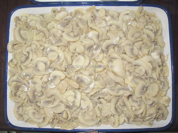 CANNED MUSHROOM SLICES 2840G FRESH MATERIAL CAN FOOD