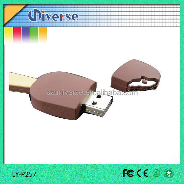 Hot summer! ice cream bulk 128mb usb flash drives