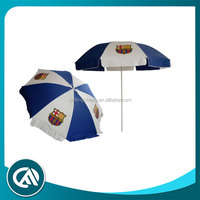 Umbrella for promotion with Barcelona Football logo print Sun Umbrella