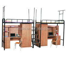 High Quality and Luxurious School Furniture Dormitory Bunk Bed
