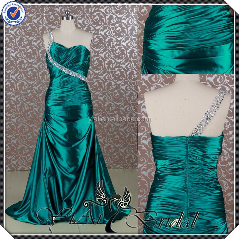 RE019 Emerlad Green Real Sample Pictures Alibaba Free Pattern Evening Dresses