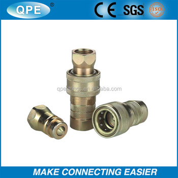 Double Shut-Off Couplings With Hardened Steel Poppets